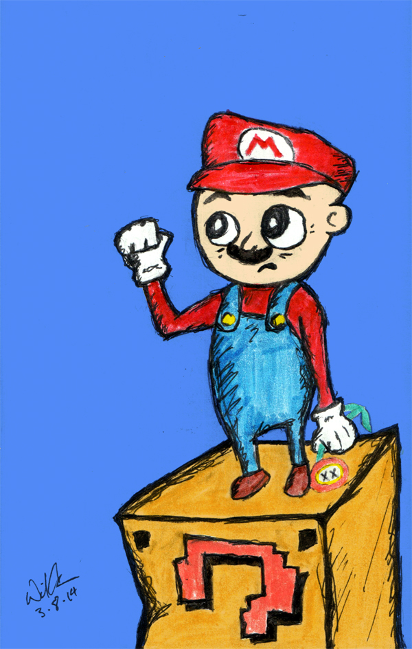 Mario Power Down